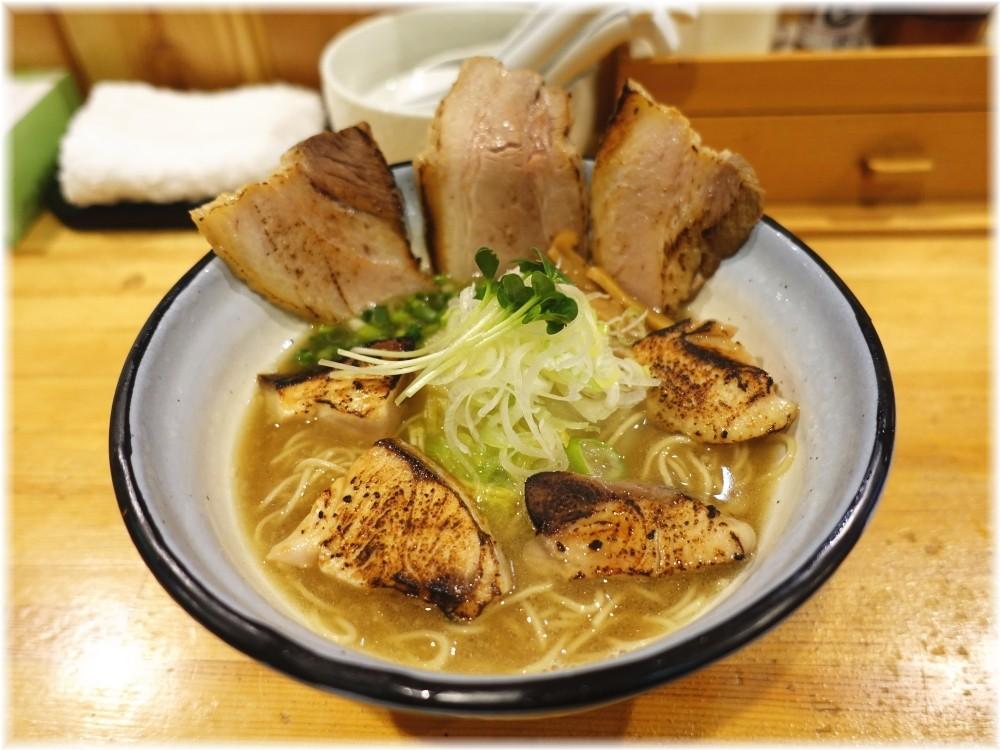 めんや正明 鰤チャーシュー麺(醤油)
