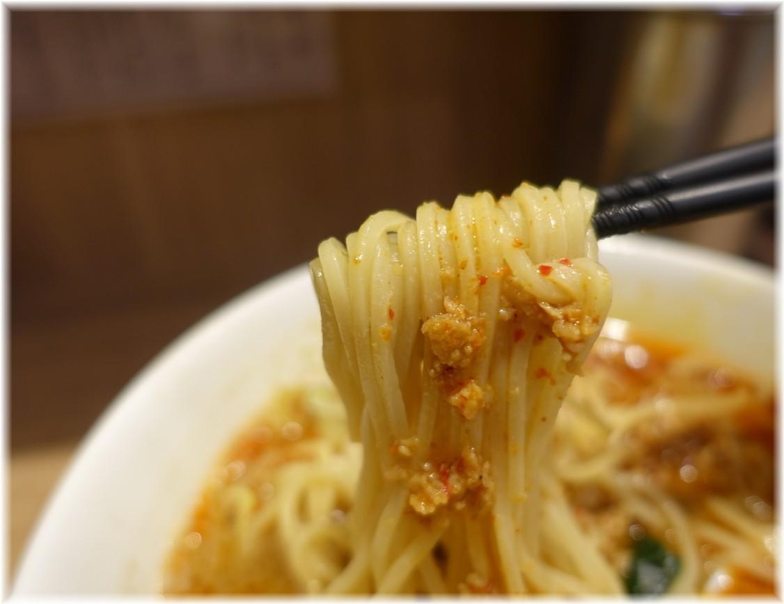 舎鈴エキュート赤羽店 担々麺の麺