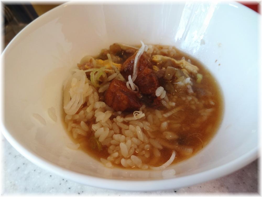 城門 ラーメンKitchen セットの豚煮込み丼(小)にスープ