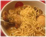 麺屋武蔵 二天 玉豚天らーめんの麺と豚天