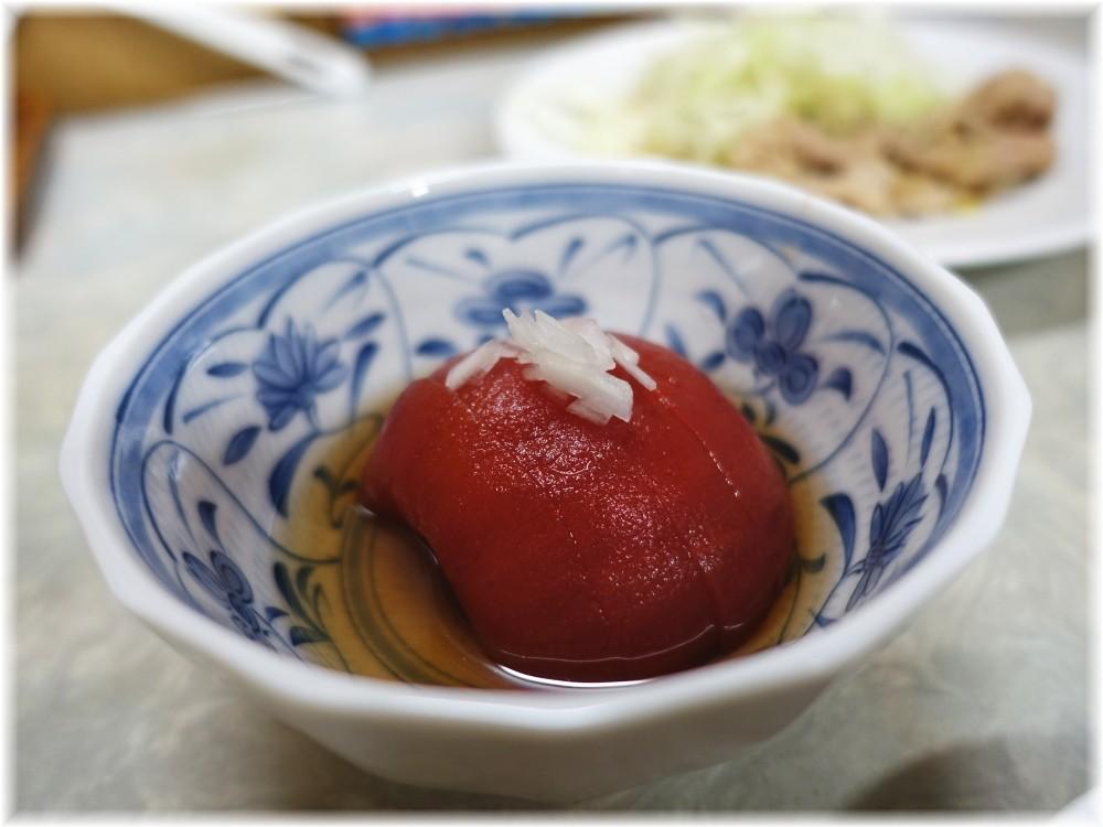 伊勢屋食堂 トマトの酢漬け