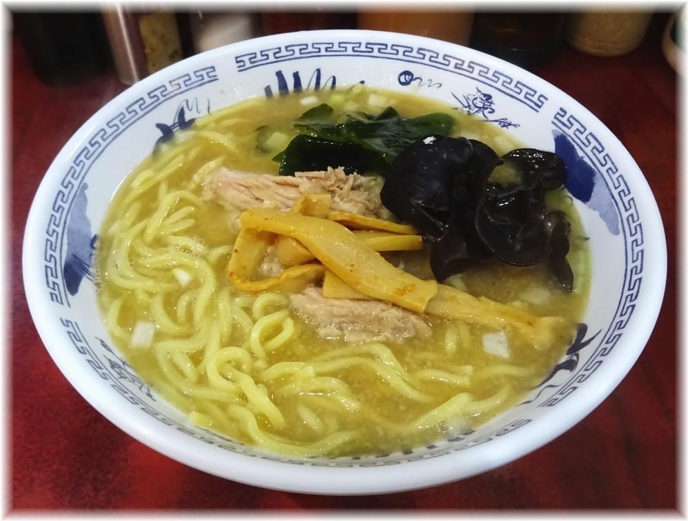 ラーメンマキタ 醤油(並)+チャーシュー