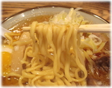つじ田 こく味噌らーめんの麺
