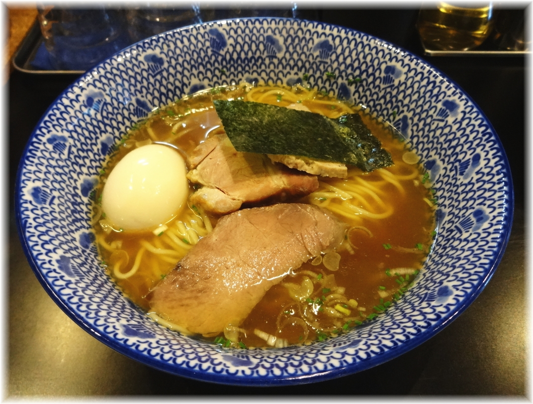 薫風 特製中華そば(醤油)