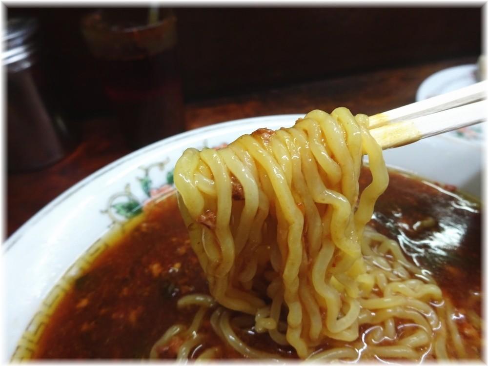 餃子舗漫々亭 スタミナラーメンの麺