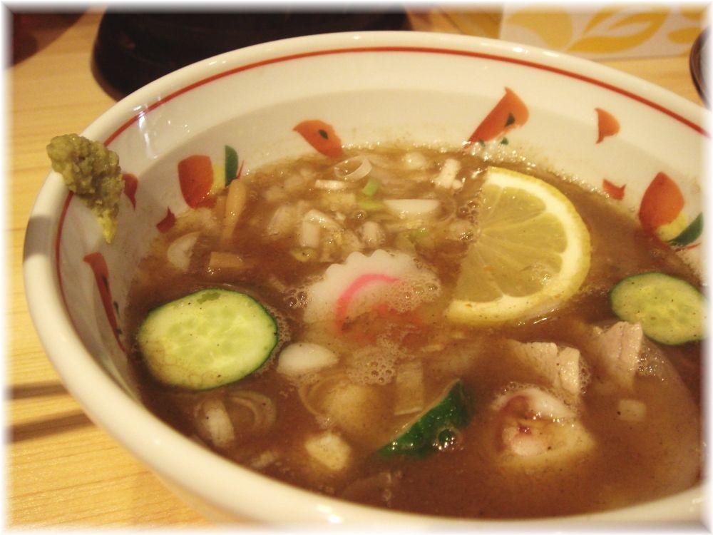 海月 ガーリック豚塩つけ麺のつけ汁