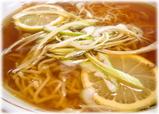 中園亭 檸檬湯麺(レモンソバ)