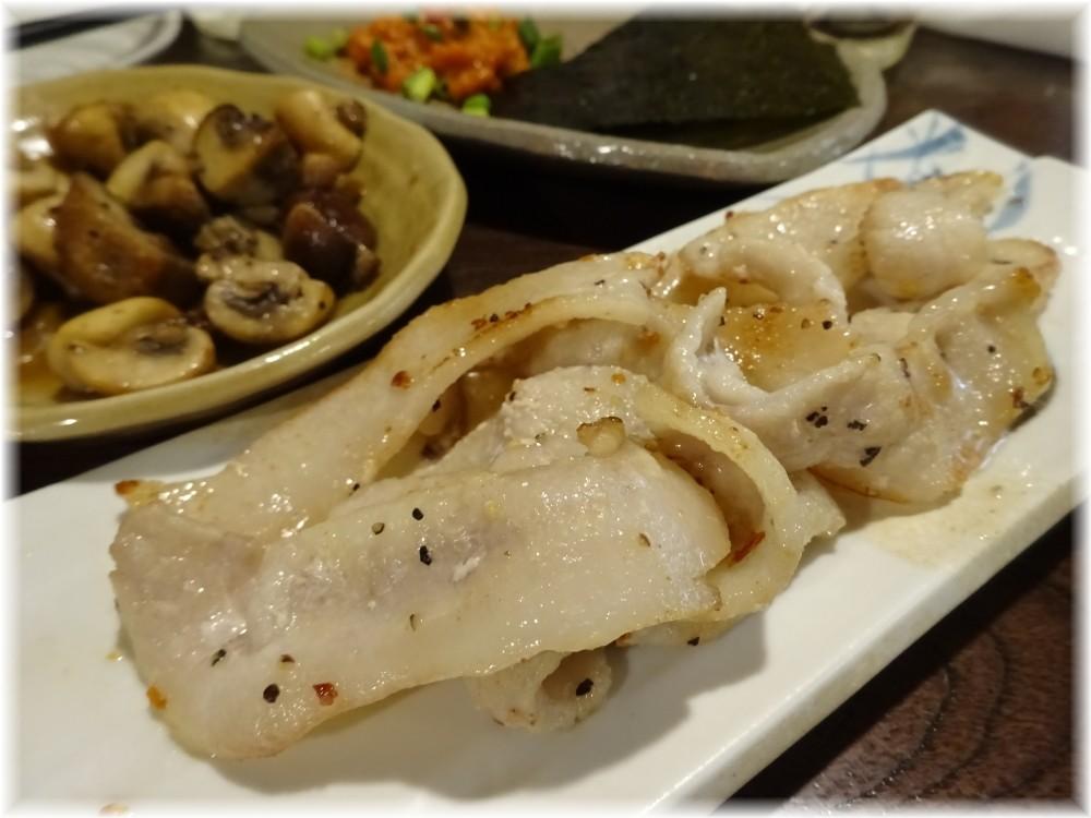 金町製麺6 豚トロ焼き