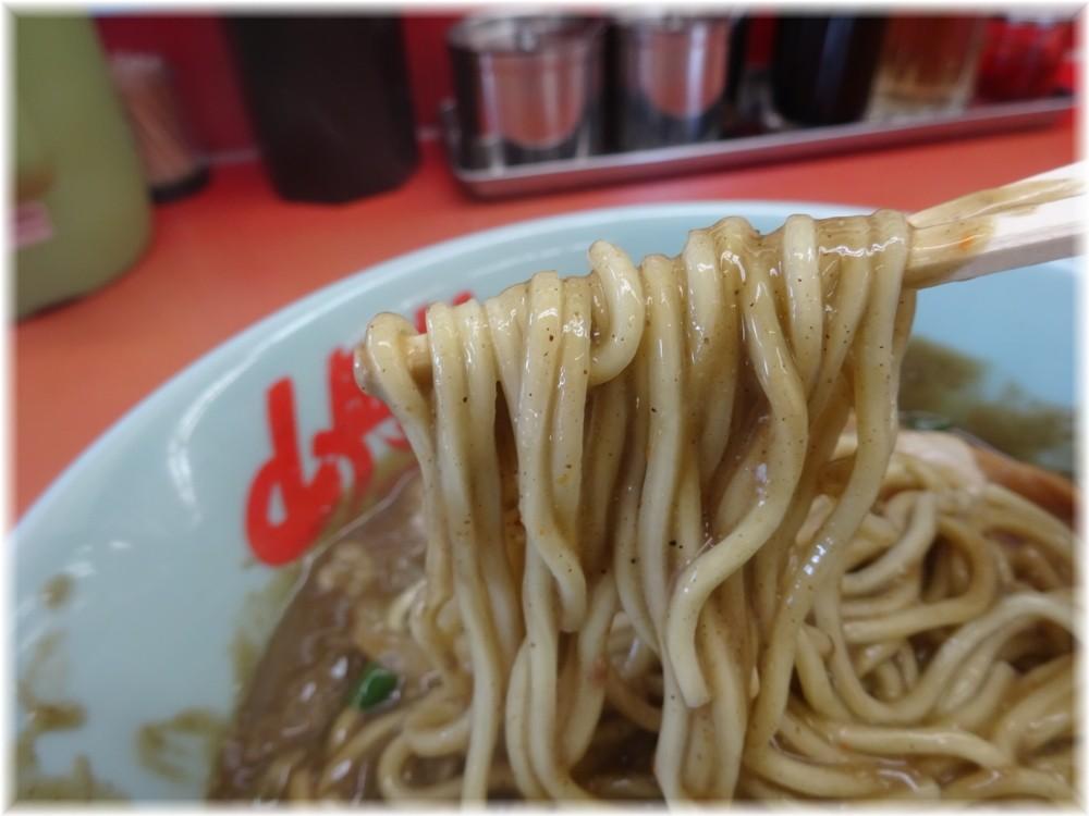 山岡家宮前店 鬼煮干しラーメンの麺