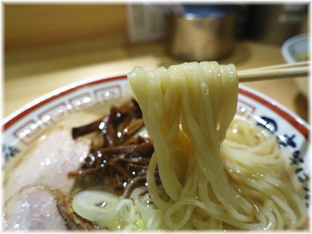 田中そば店新橋店3 冷やかけ中華そばの麺