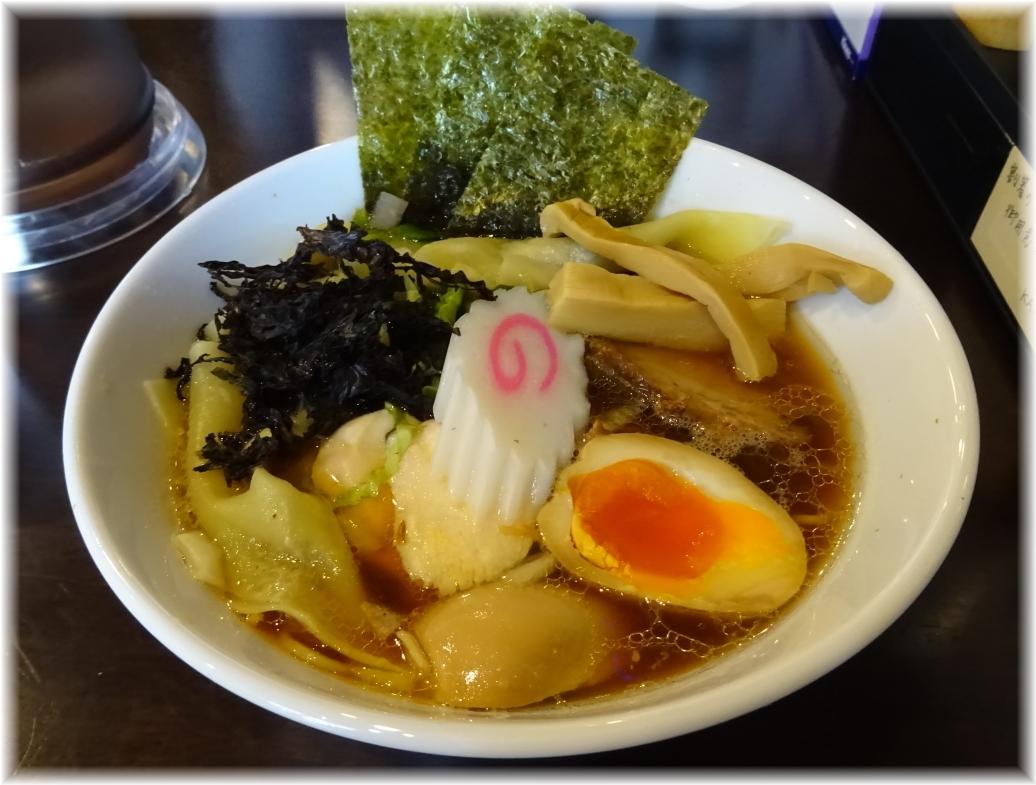 自家製麺KANARI 特製中華そば(醤油)