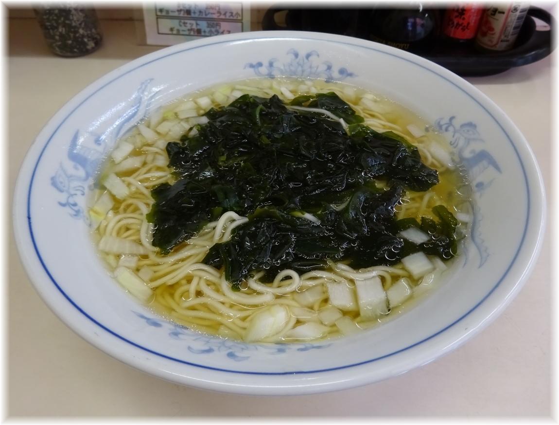 花水ラオシャン八幡店 ワカメタンメン