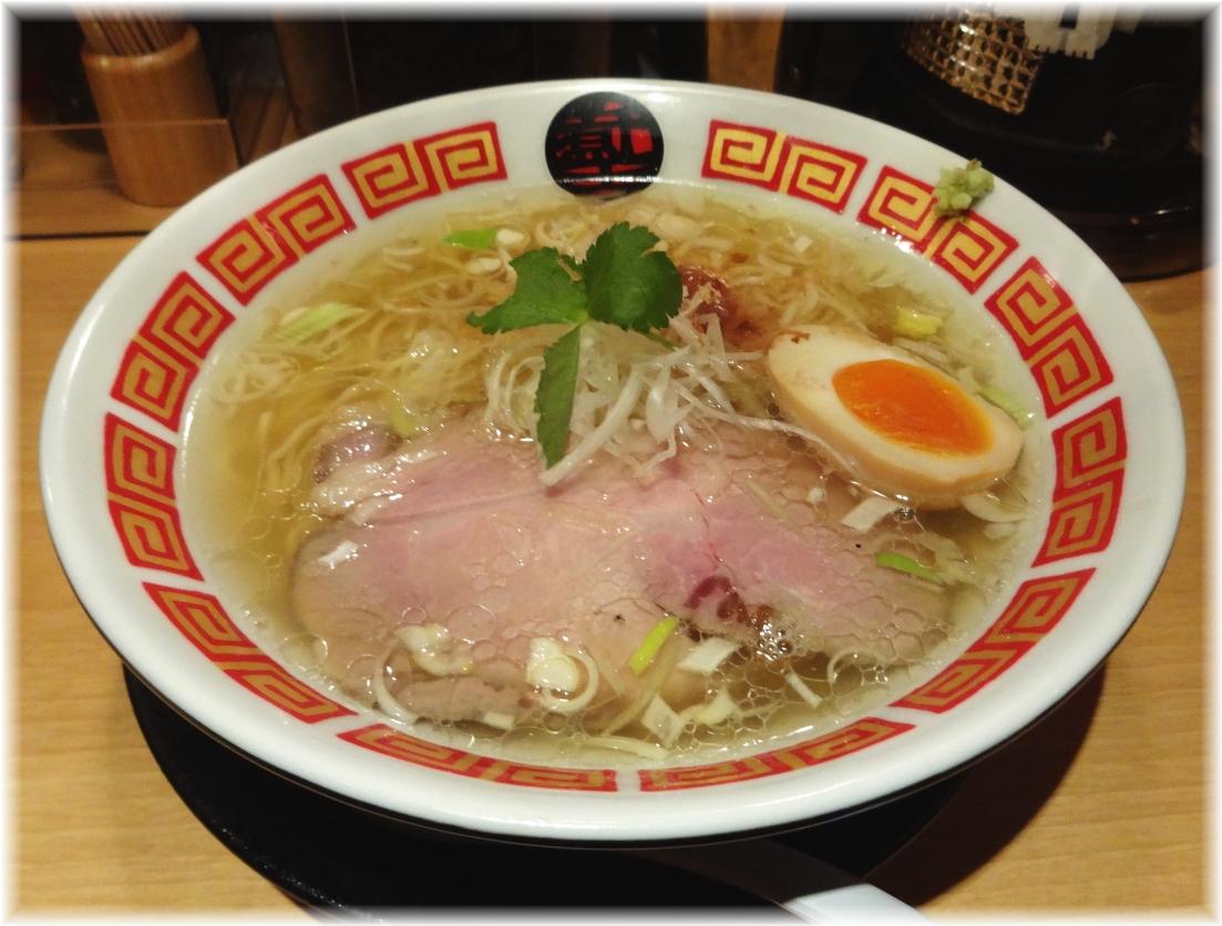 凪Noodle BAR2 俺の塩inKABUKI