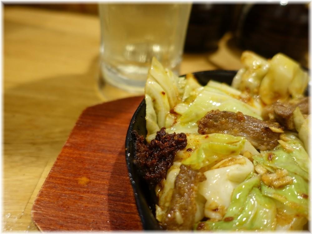 博多一瑞亭6 スタミナ鉄板(ハーフ)の辛味