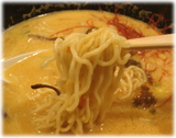 北斗 胡麻味噌らぁめんの麺