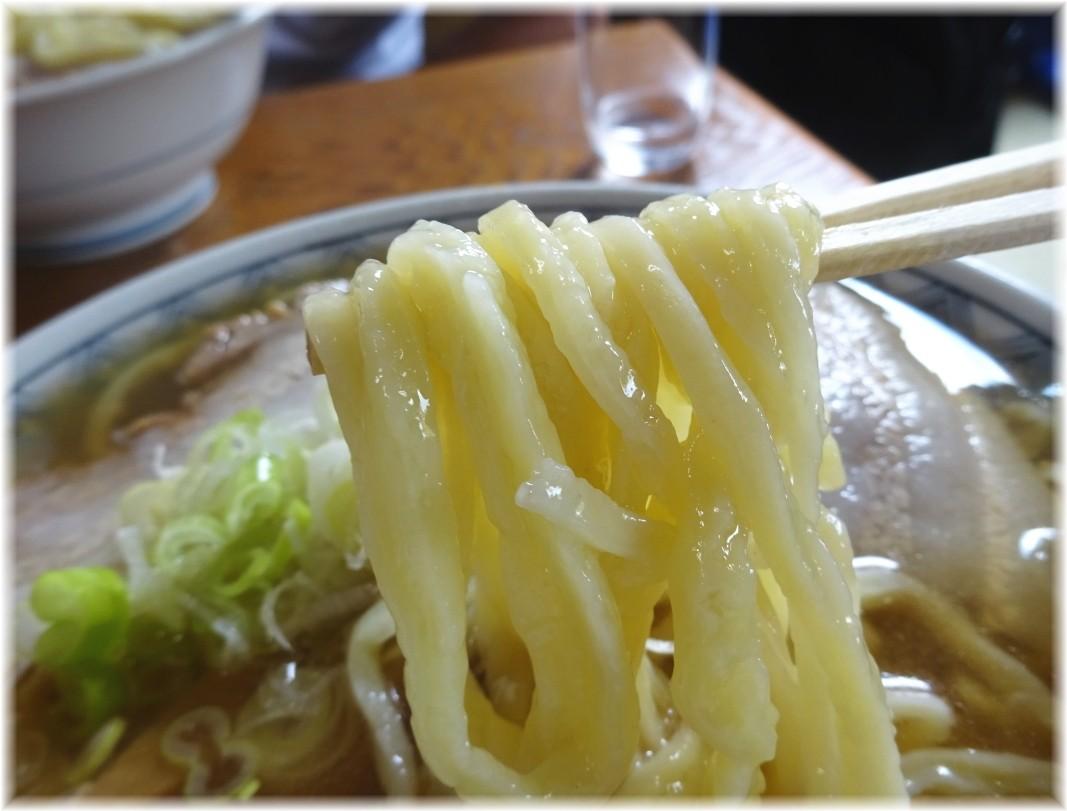 森田屋支店太田店 中華そばの麺