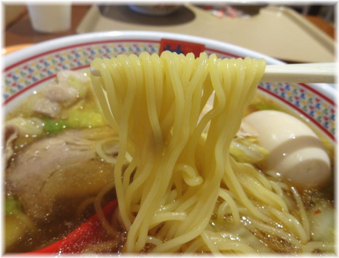 神座 煮玉子ラーメンの麺