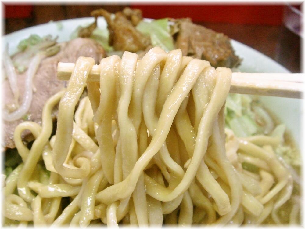 ラーメン二郎三田本店 麺2