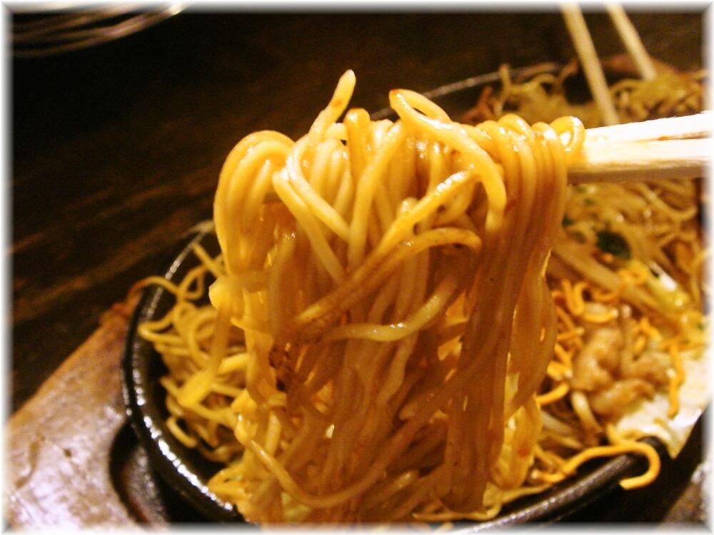 kenzocafe 焼ラーメンの麺