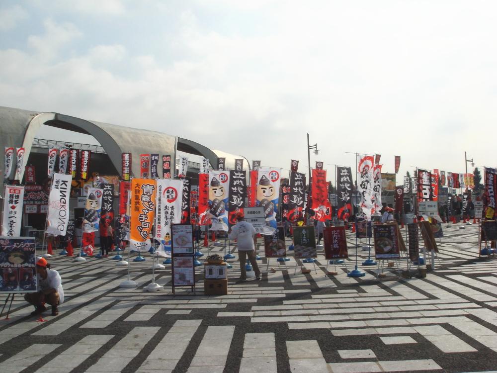 東京ラーメンショー2011 会場1