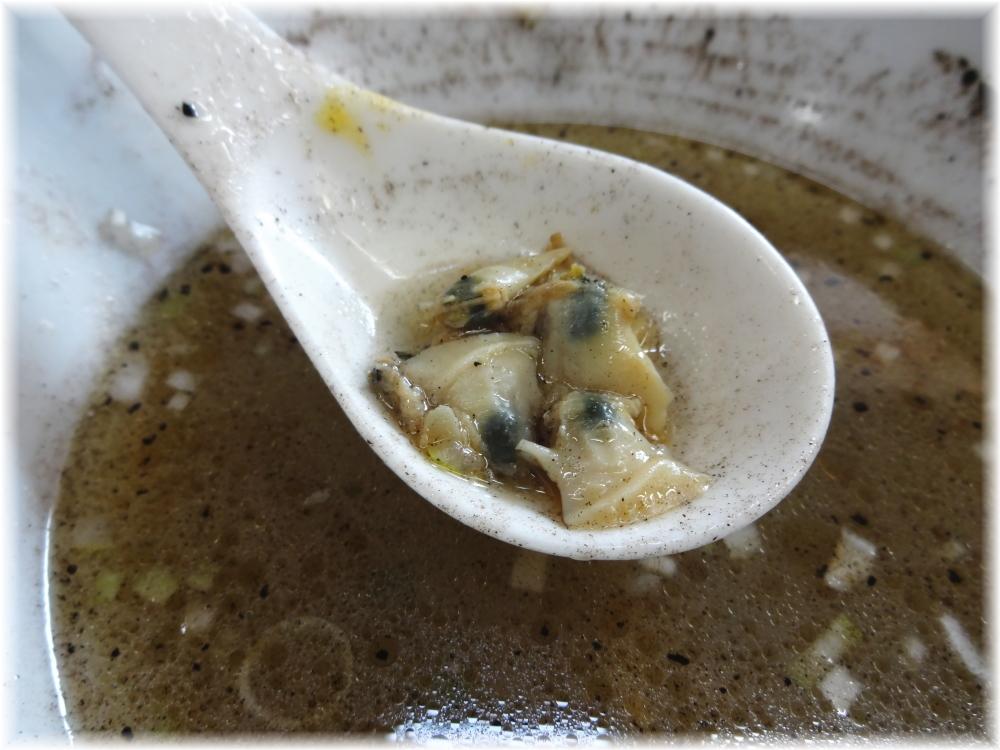 ふくろう 中華そば(塩)の蛤