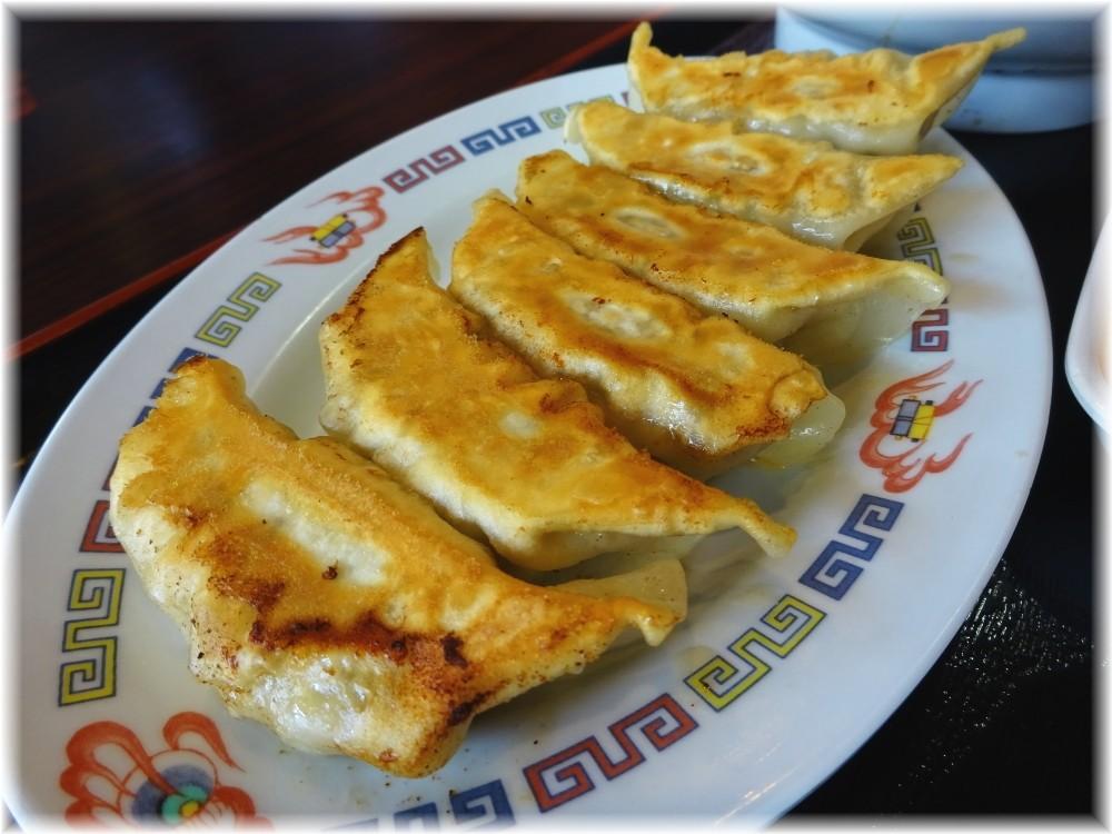 宇都宮餃子館 ラーメンセットの餃子