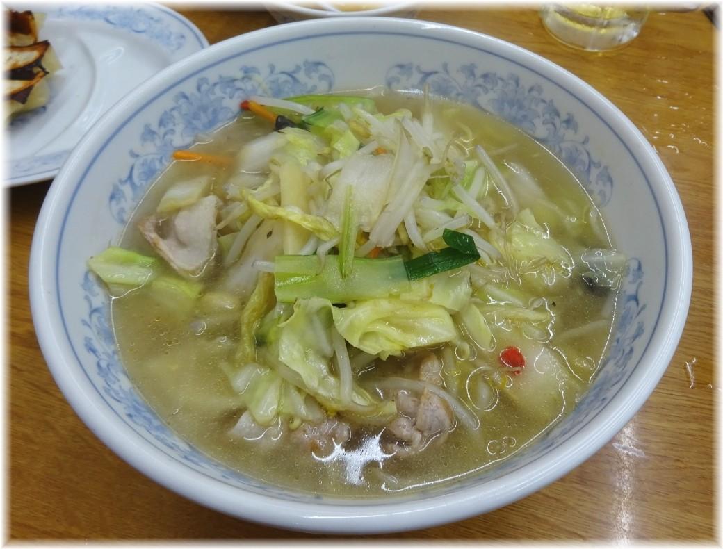 福しん 野菜タンメン