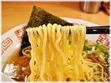 椿華亭 中華そば(煮干し多し)の麺