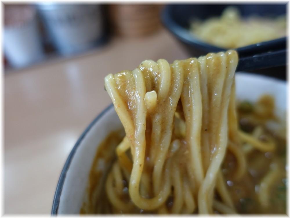 NOODLE BASE TRICK☆STAR スパイシーカレーつけめんの麺2