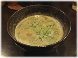 博多新風 つけ麺のスープ割り