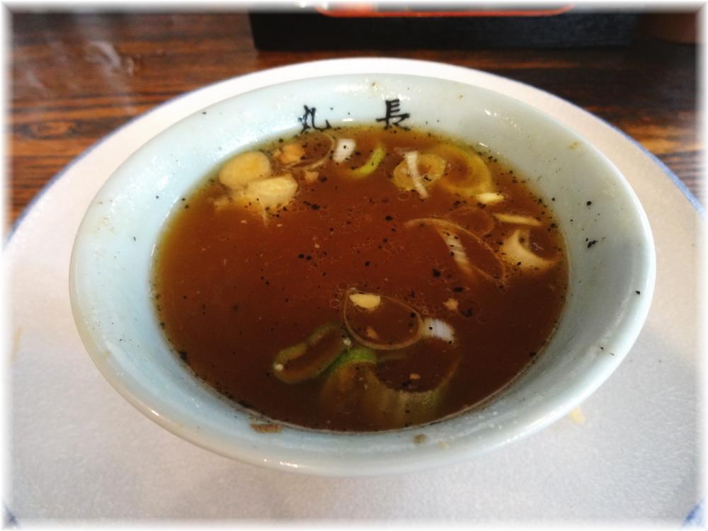 丸長中華そば店 スープ割