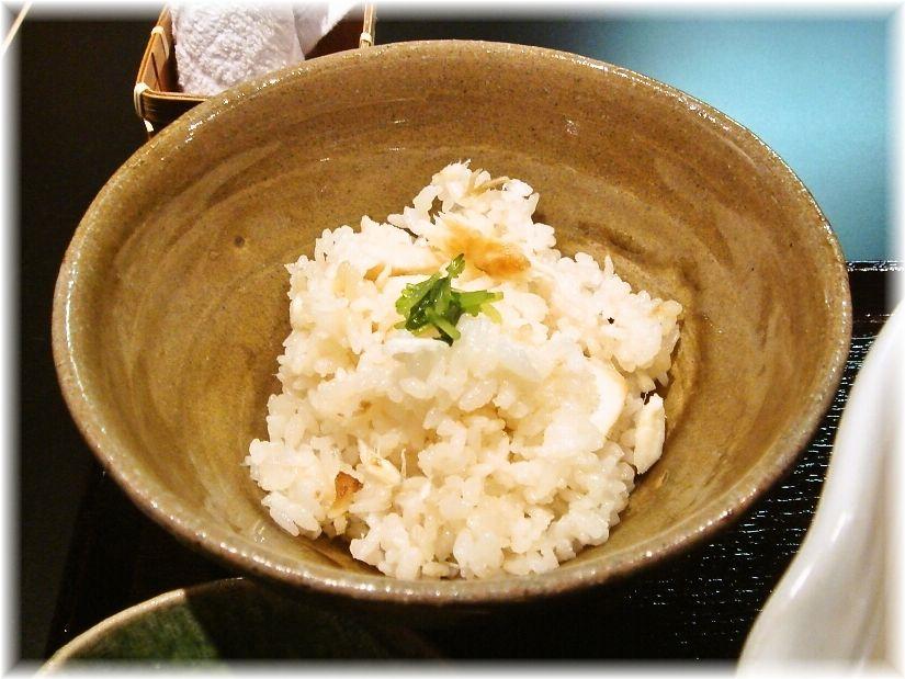 銀笹 鯛飯