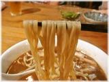 Ozy's Dining 魚魚 焦がし追い煮干しラーメン(醤油)の麺