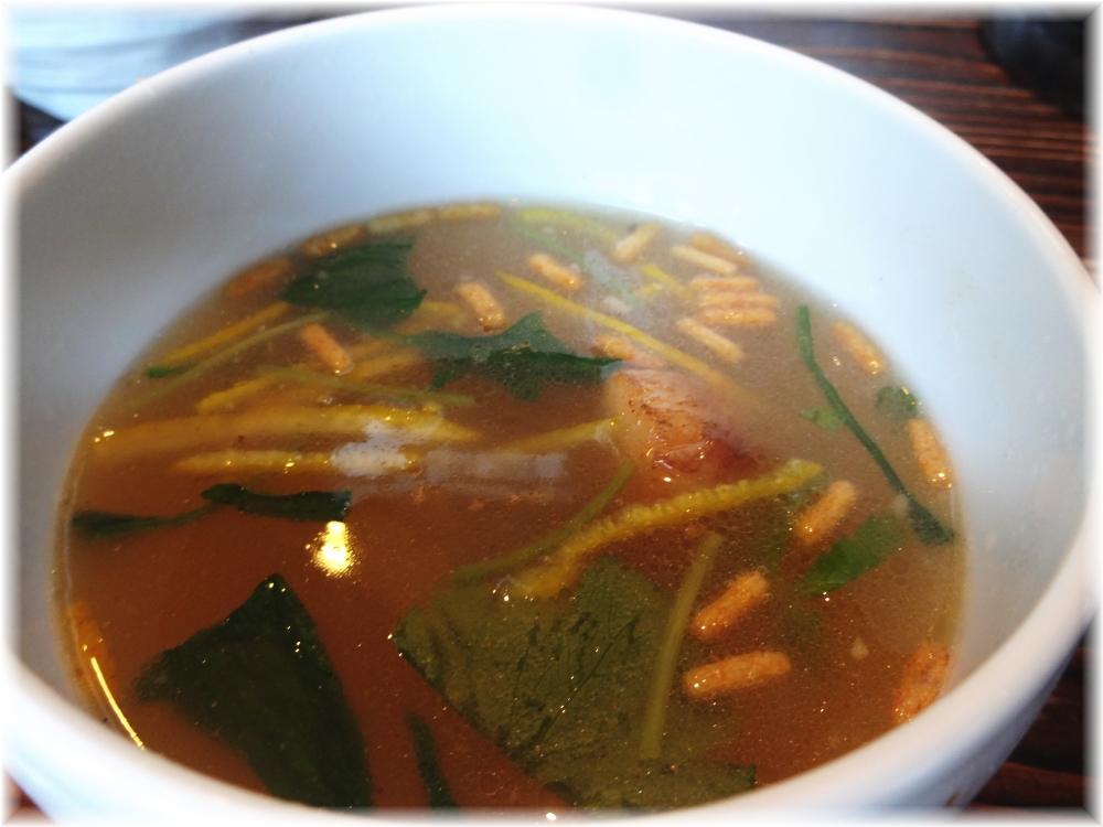 啜磨専科 ザ・しおつけ麺のスープ割り