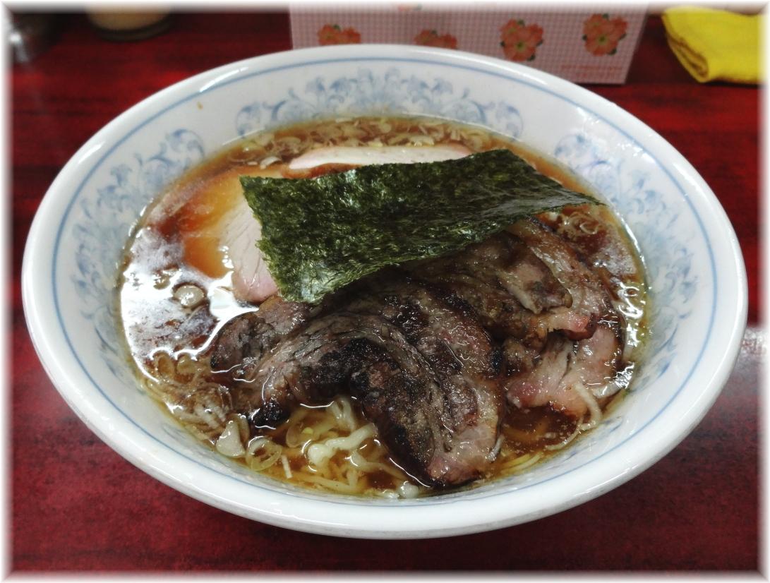 白河中華そば2 支那焼豚麺