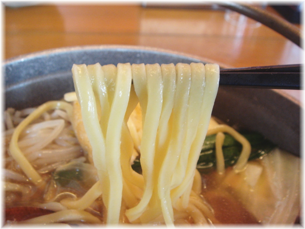 博多めんちゃんこ亭 元祖めんちゃんこの麺