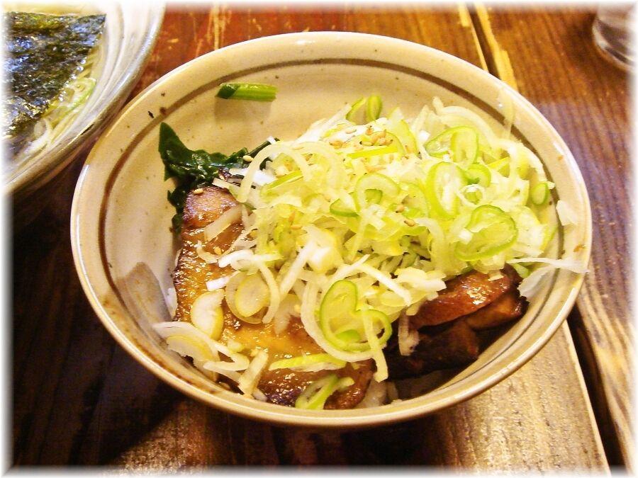 汐そば屋 本日のミニ丼
