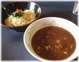 13湯麺BLACK 黒味噌つけ麺(普通)