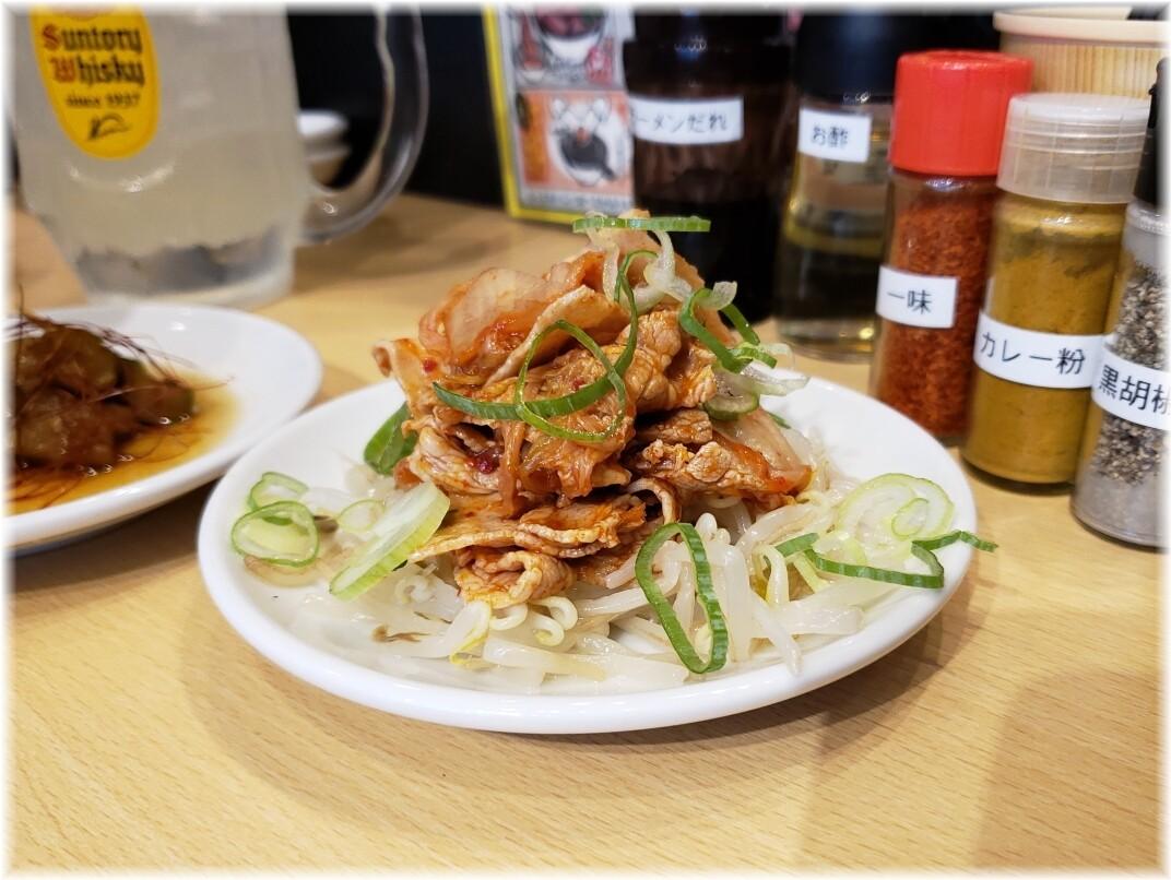 肉汁麺ススム新橋店 冷しゃぶキムチ