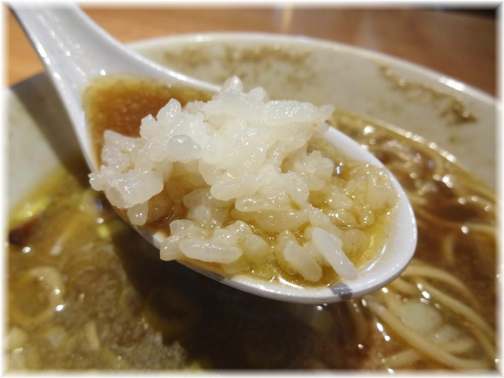つじ田奥の院 スープにライス