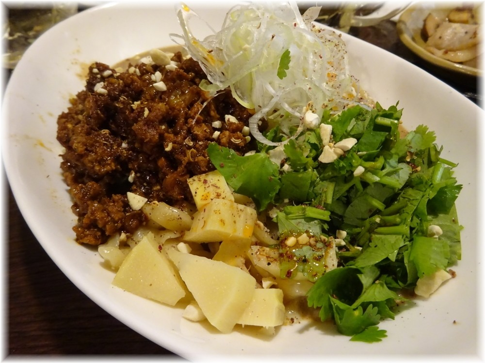 金町製麺6 汁無し担々麺