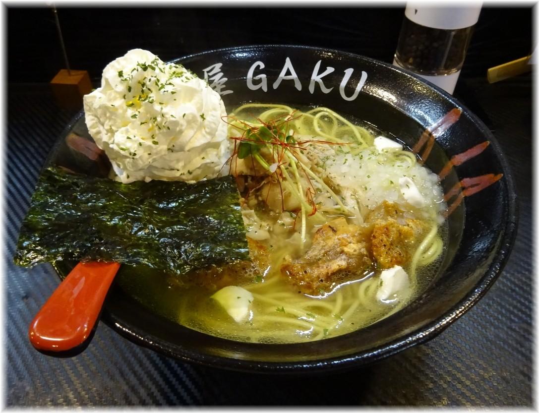 麺屋GAKU 鶏塩クリーミー