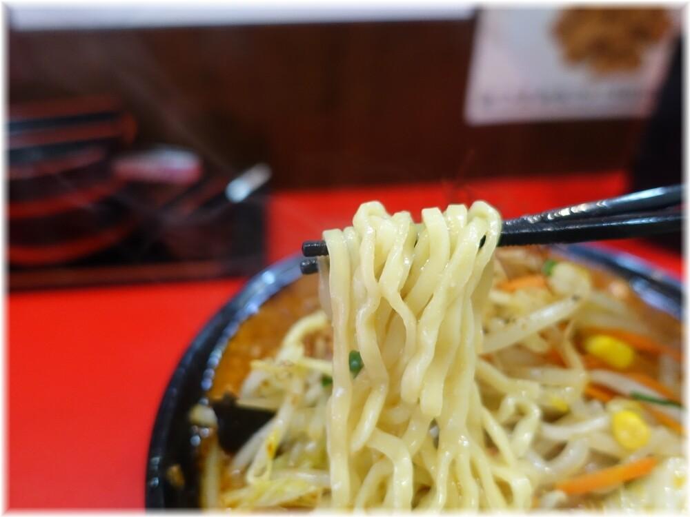 濃厚タンメンかめしげ 麻辣味噌タンメンの麺