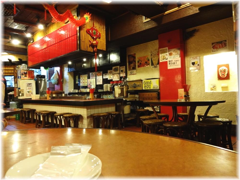 台南担仔麺 店内