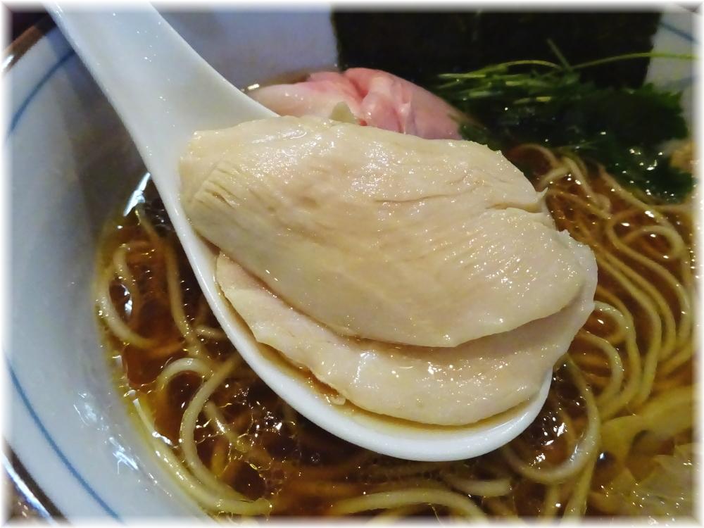 中華そば四つ葉 特製四つ葉そばの鶏チャーシュー