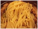 肉の万世 肉味噌排骨拉麺の麺