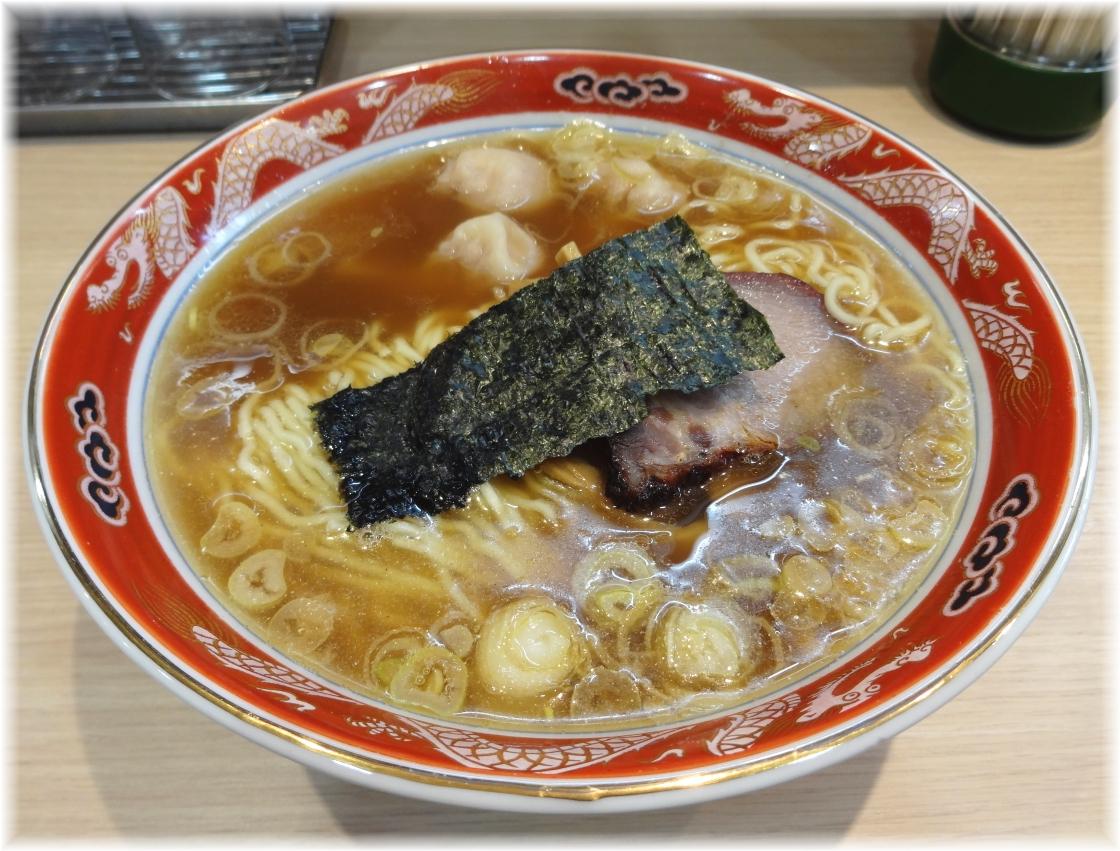 支那ソバすずき ワンタン麺(3個)