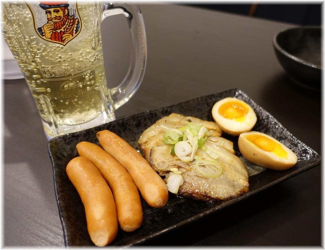 麺屋笹苑2 おつまみ盛り合わせ