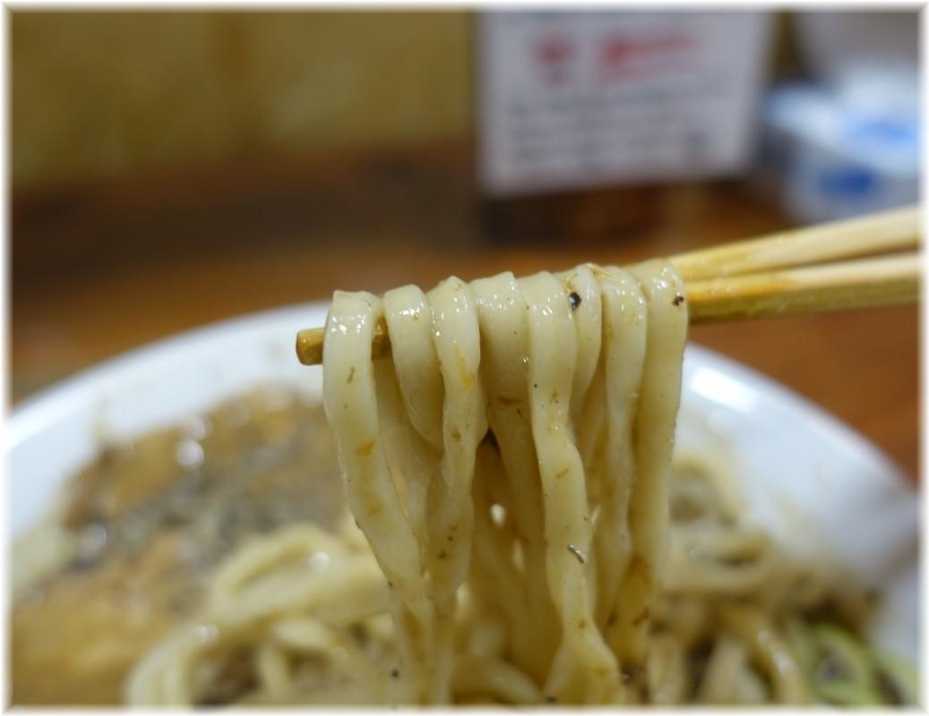 長尾中華そば東京神田店 ごぐにぼMAXの麺