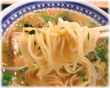 くろいわ 味噌ラーメンの麺